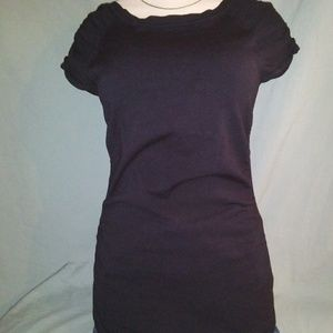 Maurices Short Sleeve Sweater. Size Small. Black.